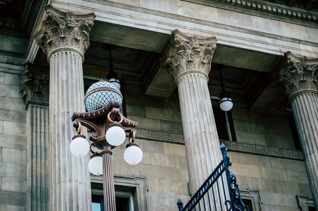 Fachada exterior del juzgado