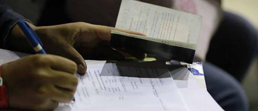 Solicitud del permiso de residencia
