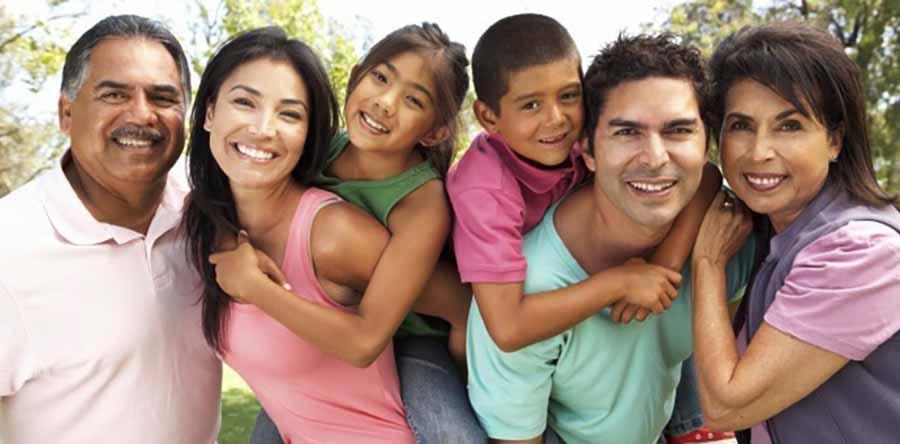 Familia extranjera