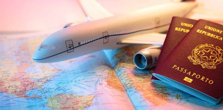 pasporte para viajar en avion